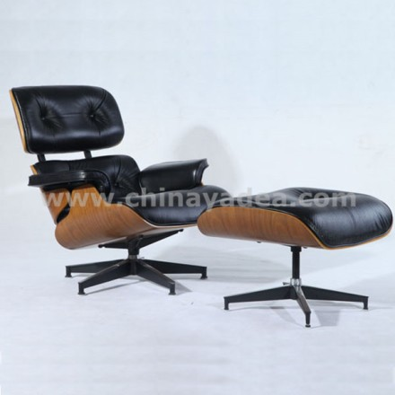 herman miller lounge chair replica. Chair Replica\u2013 Black Italian Aniline Leather \u2013 Buy The Eames Lounge Premium And Herman Miller From Yadea Furniture. Replica E